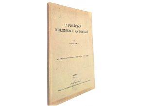 Charvátská kolonisace na Moravě