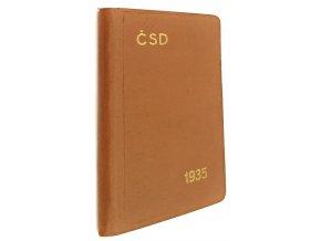 Cestovní příručka ČSD 1935