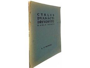 Cyklus dvanácti dřevorytů ku cti a chvále Baccha, Marta a paní Venuše