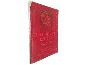 Historická knižní vazba 1964-1965