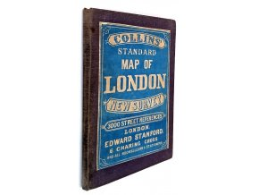 Collins' Standard Map of London