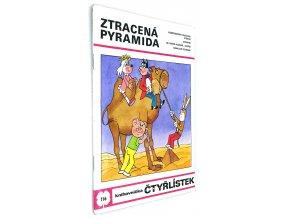 Ztracená pyramida - Čtyřlístek č. 116