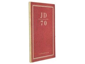 Pozdrav k sedmdesátinám Jakuba Demla