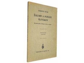 Žaloby a ponosy Slovákov