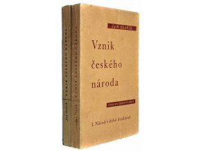 Vznik českého národa