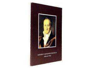 Goethe v západních Čechách