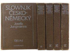 Slownjk česko-německý Josefa Jungmanna