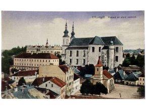 Litomyšl - pohled ze staré radnice