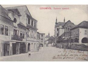 Litomyšl - Šantovo náměstí