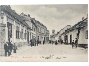 Polička - Komenského ulice