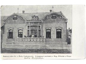 Rodinný dům Fr. a Štefy Pražanových