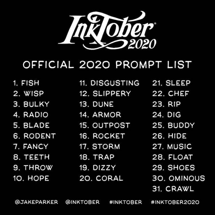 inktober-2020-prompt-list