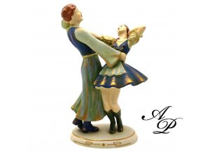 Royal Dux figure