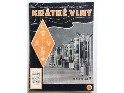 casopis kratke vlny 7 1947 rocnik 6 oficielni organ cav cs amateru vysilacu a sska (1)