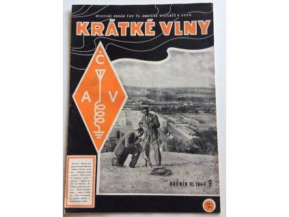 casopis kratke vlny 9 1947 rocnik 6 oficielni organ cav cs amateru vysilacu a sska (1)