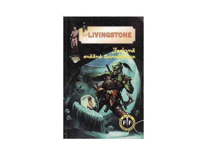 jeskyne snezne carodejnice ian livingstone fighting fantasy gamebook