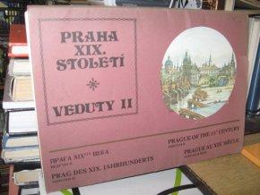 Praha XIX. století - Veduty II