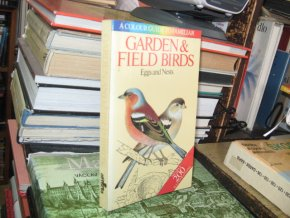 Garden and Field Birds. Eggs and Nests