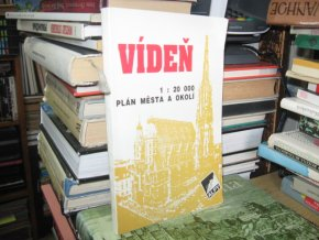 Vídeň. 1 : 20 000. Plán města a okolí