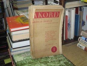 Akord - ročník IV (1931)