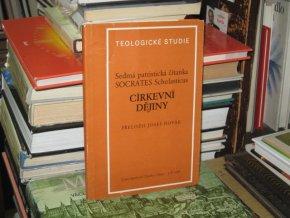 Sedmá patristická čítanka - Církevní dějiny