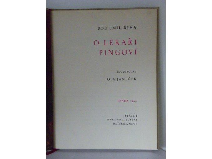 O lékaři Pingovi (1962)