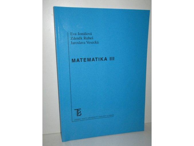 Matematika III (2014)