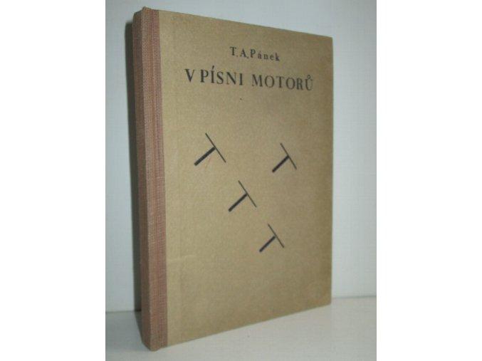V písni motorů : román pilota
