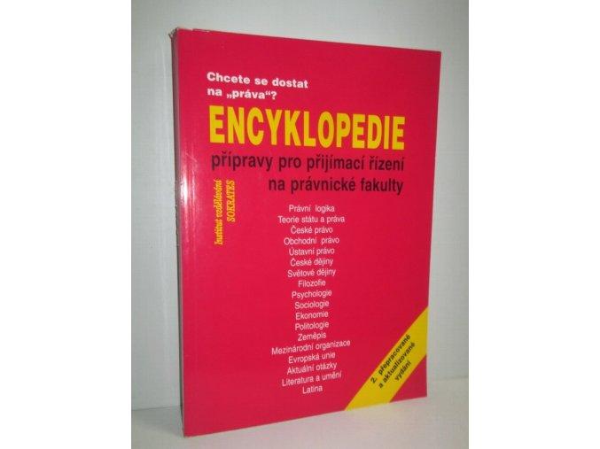 Encyklopedie přípravy pro přijímací řízení na právnické fakulty