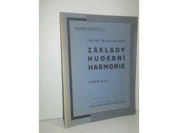 Základy hudební harmonie
