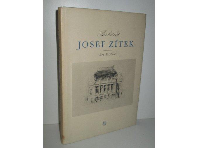 Architekt Josef Zítek