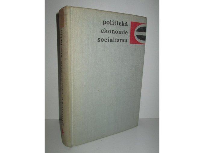 Politická ekonomie socialismu : sborník