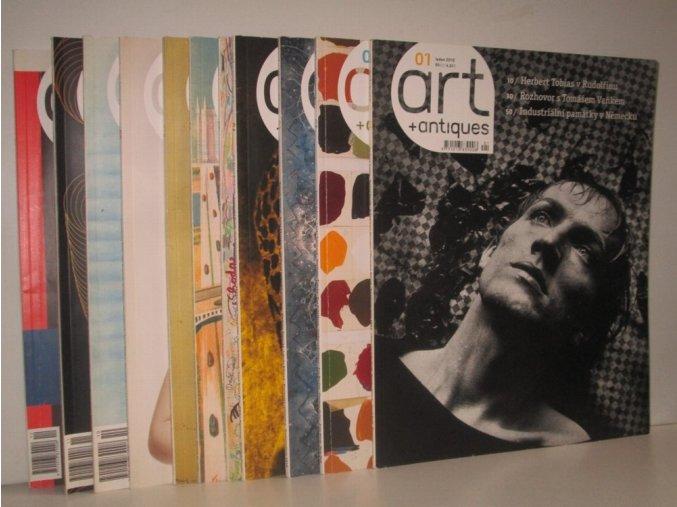 časopis Art + Antiques:Umění žít s uměním čís.1-12