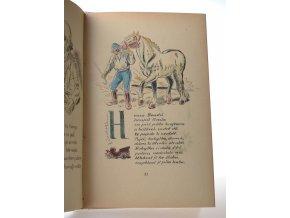 Poutníček Jaroslava Vojny- obrázkový letopis našeho lidu v písních a říkadlech