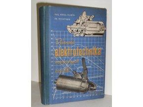 Dílenská elektrotechnika motorových vozidel