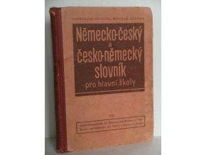 Německo-český a česko-německý slovník pro hlavní školy