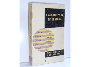 Francouzská literatura : (stručný nástin vývoje)