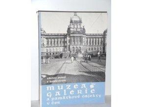 Muzea, galerie a památkové objekty v ČSR