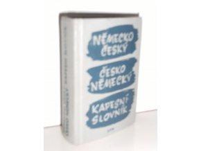 Německo-český a česko-německý kapesní slovník (1965)