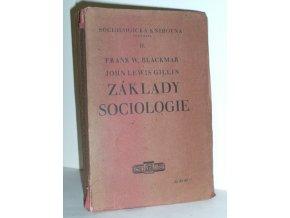 Základy sociologie