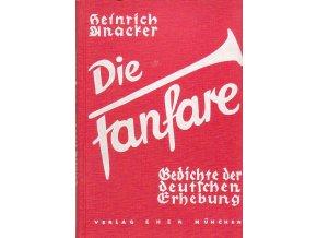 Die Fanfare. Gedichte der deutschen Erhebung
