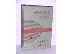 Německo-český a česko-německý kapesní slovník (1991)