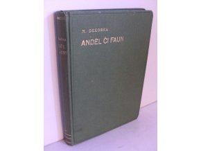 Anděl či faun? : Román