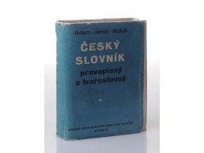 Český slovník pravopisný a tvaroslovný (1954)