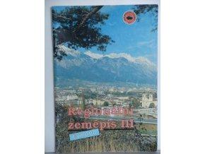 Regionální zeměpis III : Evropa : učebnice zeměpisu