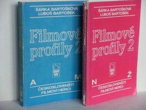 Filmové profily 2 : českoslovenští filmoví herci (2sv)