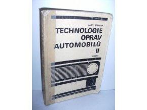 Technologie oprav automobilů II : Učební text pro 3. roč. učebního oboru mechanik-opravář, mechanička-opravářka, zaměření pro silniční motorová vozidla