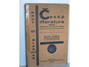 Česká literatura staré, střední a nové doby v přehledných otázkách maturitních