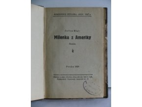 Milenka z Ameriky