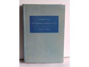 Pravidla českého pravopisu : školní vydání (1958)